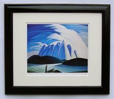 "Lawren Harris, Group of Seven ""Lake & Mountains"" Limited Edition Framed Print"