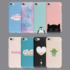HEART CACTUS PENGUIN CAT CHILL PHONE CASE FOR IPHONE 7 8 X XR SAMSUNG S8 S9 PLUS