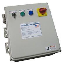 Elimia Combination Motor Starter 208-230V 23-32 Amp 10 HP Nema 4X Pump HOA