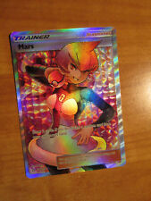 EX FULL ART Pokemon MARS Card ULTRA PRISM Set 154/156 Sun and Moon Trainer Rare