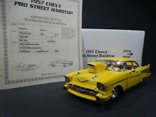 Danbury Mint 1957 Chevy Pro Street Hardtop Bel Air 1:24 Scale Die Cast Model Car