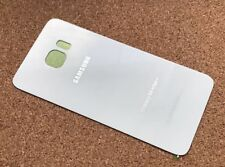 Samsung Galaxy Original S6 Edge Plus Battery Back Cover Glass - WHITE