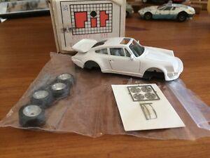 Rare Kit Porsche 911 Turbo 3.3 Pit Model peint MadeIn Italy limited edition 1/43