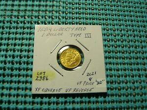 1884 $1 Liberty Head Gold (Lot# 2386)