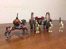 Lego Star Wars, Star Wars Episode 2, Hailfire Droid & Spider Droid, Set 7670
