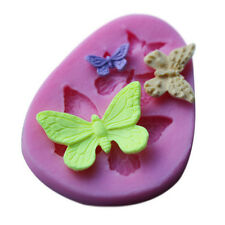 3D Butterfly Silicone DIY Cake Decors Molds Sugarcraft Fondant Moulds Tools Pro