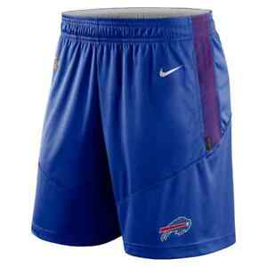 Brand New 2021 NFL Buffalo Bills Nike Sideline Performance Knit Shorts NWT BUF