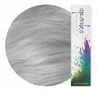 Sparks Long Lasing Bright Permanent Dye Hair Color Cream 90mL Silver Mist