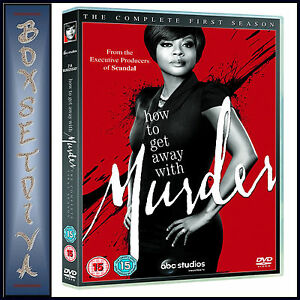 HOW TO GET AWAY WITH MURDER - COMPLETE SEASON 1   *BRAND NEW DVD***