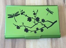 Business Card/Gift Card/Credit Card/Money Case-Wellspring-Lime Blossom 2442 RFID