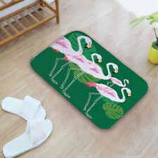 Flamingo Print Doormat Machine-washable Non-slip Floor Mat Home Decor Carpet