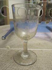 Vintage Etched Measuring Glass