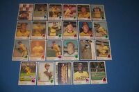1973 Topps SAN DIEGO PADRES Team Set 23 Cards NATE COLBERT High Numbers #'s