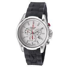 Swiss Alpine Military Men's Red Force Rubber Strap Quartz Watch 1635.9832 SAM