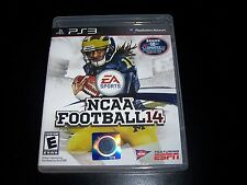 Replacement Case (NO GAME) NCAA FOOTBALL 14  PLAYSTATION 3 PS3