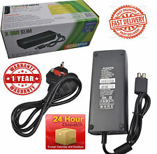 Power Supply for Xbox 360 S Slim Brick Adapter UK Mains Charger 135W
