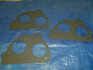 New 87-95 Pontiac GMC Fuel Injection Throttle Body Mounting Gasket Set of 3 OEM