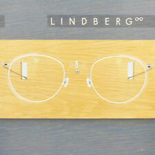 LINDBERG NOW 6527 48 C01 P10 CLEAR CRYSTAL ROUND EYEGLASSES SPECTACLE FRAMES