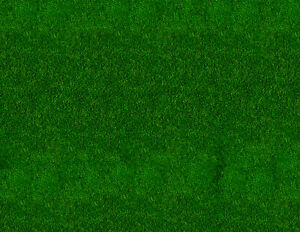 1:32 Scale Dark Green Grass Scenery Sheets for Slot Car Tracks - Five 8.5x11