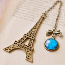 Vintage Eiffel Tower Metal Bookmarks for Book Kids Gift Stationery Korean