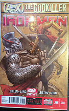 Iron Man (Volume 5) #8 QUASI NUOVO 1 ° Stampa Marvel Comics Kieron Gillen