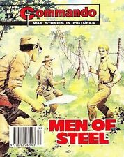 Commando For Action & Adventure Comic Book Magazine #2382 MEN OF STEEL