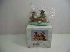 Fitz and Floyd Charming Tails Rowboat Romance 83/801 Nib
