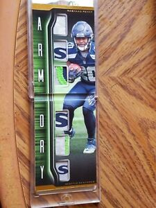 2020 Playbook RASHAAD PENNY Rookie Armory Patch Booklet /10 SEAHAWKS LOGO PATCH