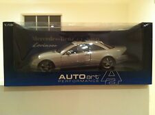 MERCEDES BENZ LORINSER CL500 RARE 1:18 NEW IN BOX BY AUTOart Models DISCONTINUED