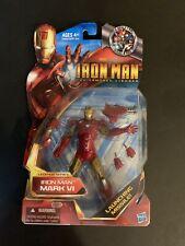 "Iron Man Mark VI Marvel Legends Series Armored Avenger 6 "" inch figure Hard TF🔥"