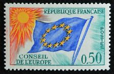 Timbre conseil Europe France n° 33