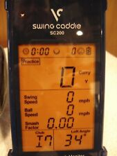 Swing Caddie SC200 Portable Launch Monitor
