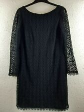 BNWT Long Sleeved Black Lace Dress Size 16 Atmosphere from Primark Party Lined