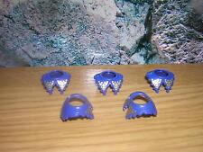 (A 4/17) 5x Collar Mosquetero GUARDIA soldados caballero Príncipe Castillo