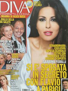 Diva 2012 41.SABRINA FERILLI,VASCO ROSSI,MARTINA STELLA,EMMA MARRONE,DALLAS