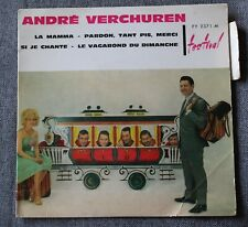 Andre Verchuren, la mama + 3,  EP - 45 tours