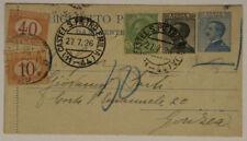 Storia postale del Regno d'Italia Segnatasse