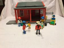 Playmobil Geobra Vintage 4301 Riverdale Train Station Western Missing 1 Piece