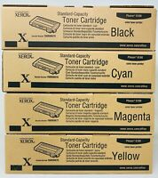 Xerox Multipack Toner Original Noir/Jaune / Magenta / Cyan Pour Phaser 6100