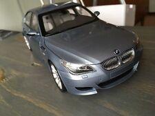 Kyosho 1:18 BMW M5 E60 Diecast Model Car Racing Sedan Silver