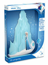 Philips Disney Frozen LED Wandleuchte 3d blau P16000GI