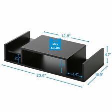 Computer Monitor Riser Printer Stand with Storage Desktop Organizer DT306001WB