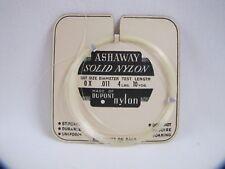 Ashaway Solid Nylon DuPont New Old Stock Fishing Lead Vintage Fishing Line