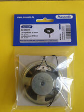 neu Massoth Lautsprecher 2Watt/8 Ohm 70mm Durchmesser, 22mm Bauhöhe