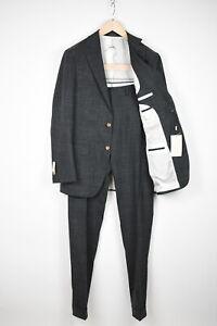 RRP$599 SUITSUPPLY HAVANA Men UK36R Wool Silk Linen Slim 2-Pieces Suit 15396