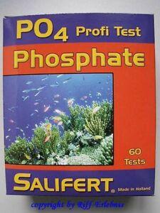 Phosphate Pro Test Salifert PO4 Water Testing For Süß- And Saltwater