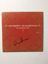 Chris Robinson Signed The Medicine Chest CD New Earth Mud Proof Black Crowes