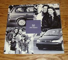 Original 1995 Honda Odyssey Deluxe Sales Brochure 95