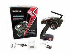 RadioLink RC6GS 6 Channel Car Transmitter with 1 x R6FG Gyro Receiver