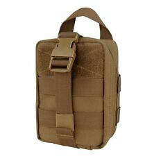 CONDOR MOLLE 191031-498 Rip-Away EMT Lite Nylon Pouch IFAK 1st Aid COYOTE BROWN